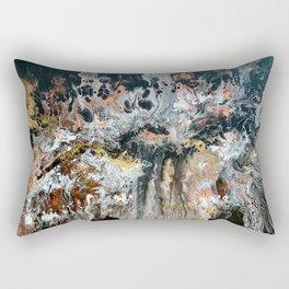 Metallic Explosions Rectangular Pillow