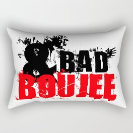 BAD AND BOUJEE Rectangular Pillow