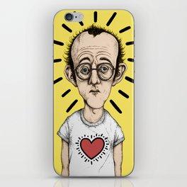 Keith Haring iPhone Skin