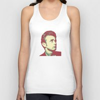 james franco Tank Tops featuring James by victorygarlic