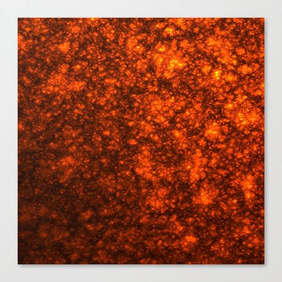 Molten Lava Canvas Print