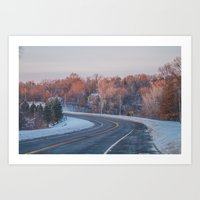 minnesota Art Prints featuring Minnesota by Kiersten Marie Photography