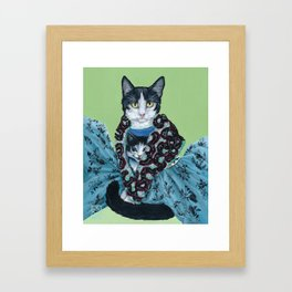 Cat's Wearing Cats - Vivienne Westwood SS14 Collection Framed Art Print