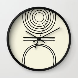 Life Balace II Wall Clock