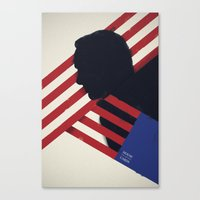 house of cards Canvas Prints featuring HOUSE of CARDS by Shujaat Syed