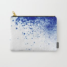 COBALT SPLATTER # 2 Carry-All Pouch