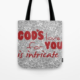 God's Love for You Tote Bag