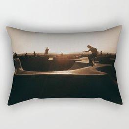 Venice beach skateboarder Rectangular Pillow