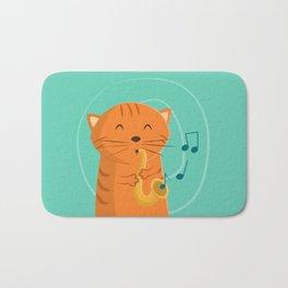Jazz Cat Bath Mat
