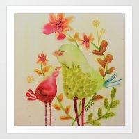 chouchou Art Print