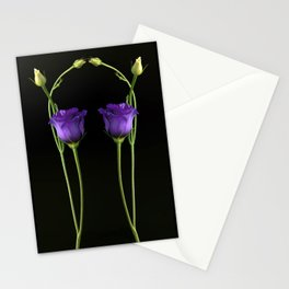 Reflection in Purple Stationery Cards