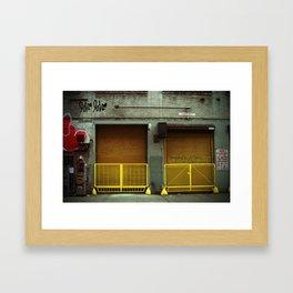{love love} Framed Art Print