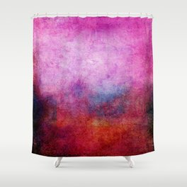 Square Composition X Shower Curtain