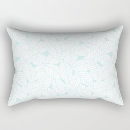 Leaves in Ice Rectangular Pillow