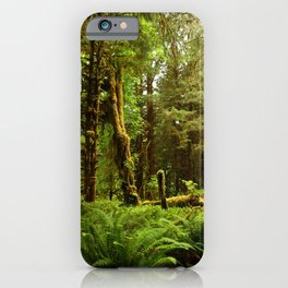Hoh Rainforest iPhone Case
