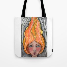 She's A Candle Tote Bag