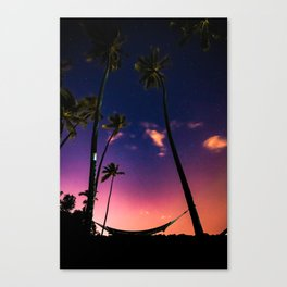 Endless Summer Nights Canvas Print