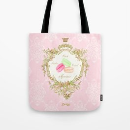French Patisserie Macarons Tote Bag