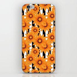 Yellow sunflowers . iPhone Skin