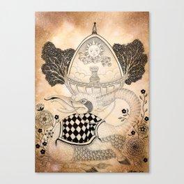Materia VI Canvas Print