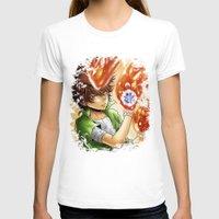 arya T-shirts featuring Sawada Tsunayoshi by Arya