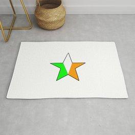 flag of ireland 11 -ireland,eire,airlann,irish,gaelic,eriu,celtic,dublin,belfast,joyce,beckett Rug