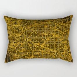 16-Washington West Columbia 1945 Rectangular Pillow