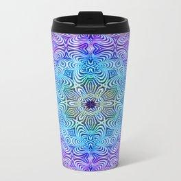 Snowflake Metal Travel Mug