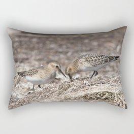 Baird on the Beach! Rectangular Pillow