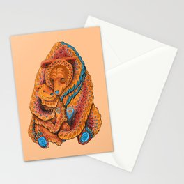 Mother Bear Stationery Cards