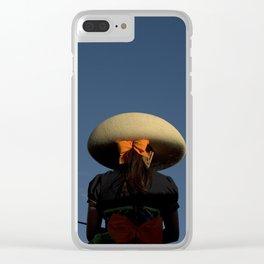 Escaramuza rider Clear iPhone Case