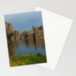 Late Afternoon At Sylvian Lake - Custer State Park Stationery Cards