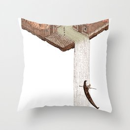 La Cascata Throw Pillow