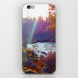 Benham Falls iPhone Skin