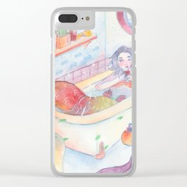 Mermay Clear iPhone Case