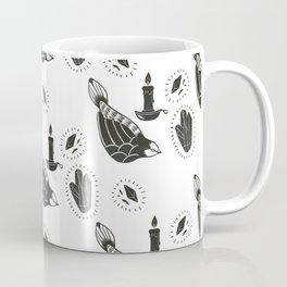 Bird and Candle Coffee Mug