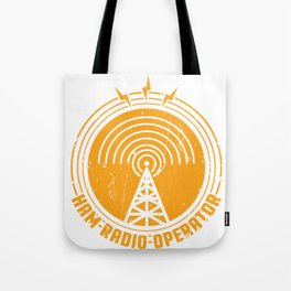 Ham Radio Operator Funny print Gift for Men and Women Tote Bag