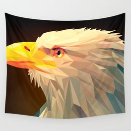 Small poly animal vector art Wall Tapestry