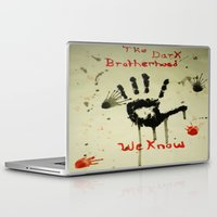 skyrim Laptop & iPad Skins featuring Skyrim: The Dark Brotherhood by Emowolf145