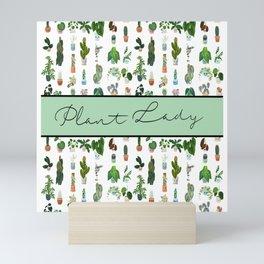Plant Lady Confetti  Mini Art Print