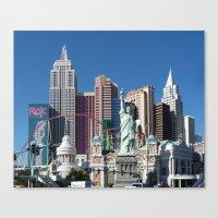 las vegas Canvas Prints featuring Las Vegas by Lynn Bolt