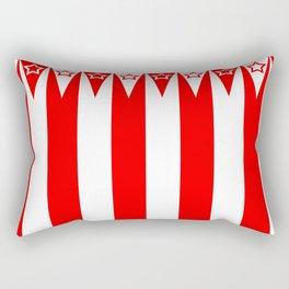 Big Top Stripes Rectangular Pillow