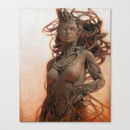 Gynoid IV Canvas Print