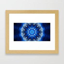 Galactic Winter Framed Art Print