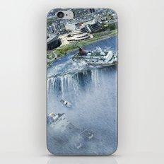 Earth Falls Away iPhone Skin