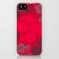 Floral Pattern #11 Slim Case iPhone (5, 5s)