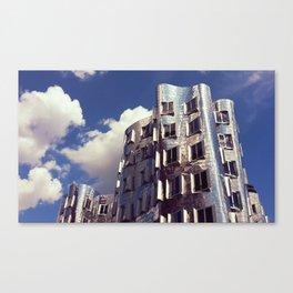 Neuer Zollhof | Frank Gehry | architect Canvas Print