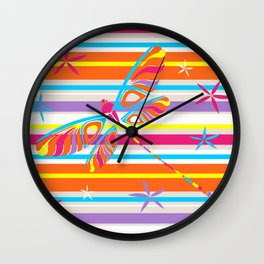 CN DRAGONFLY 1001 Wall Clock
