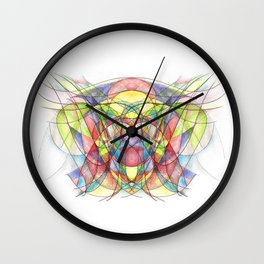 You Are the Wind to Me ❤ Wall Clock