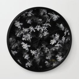 Ice Effect Wall Clock